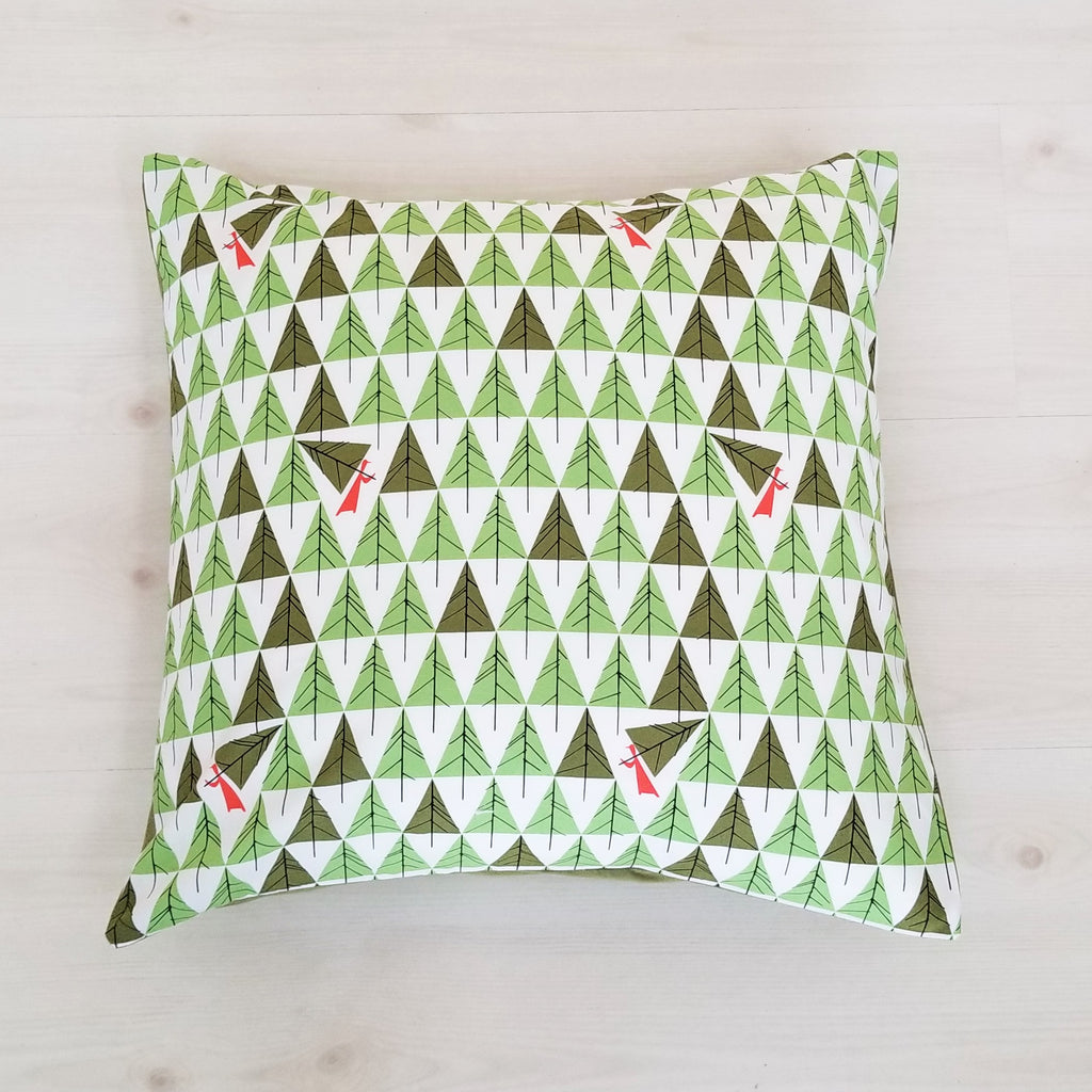 Holiday Throw Pillows in Charley Harper Prints