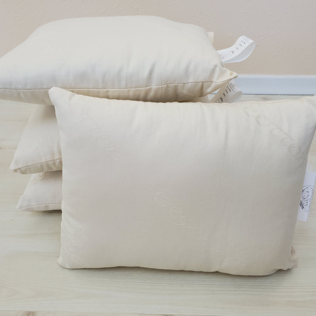 Eco-Wool Toddler & Travel Sized Pillow