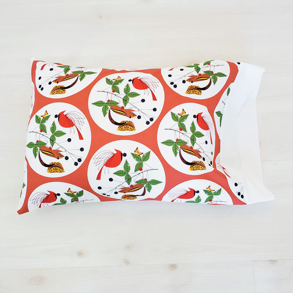 Toddler Pillowcases in Assorted Christmas Prints