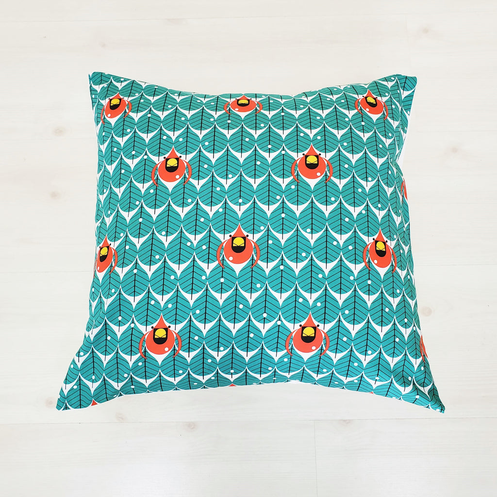 Throw Pillow Covers in Assorted Cardinal Prints