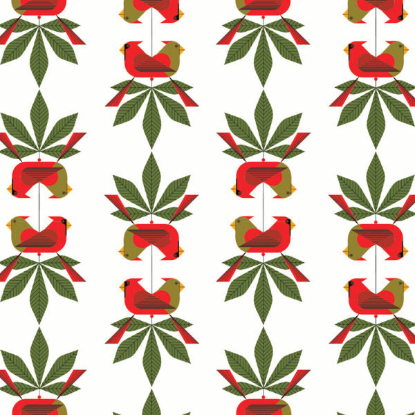 Charley Harper Organic Holiday Placemats with Multiple Prints Available