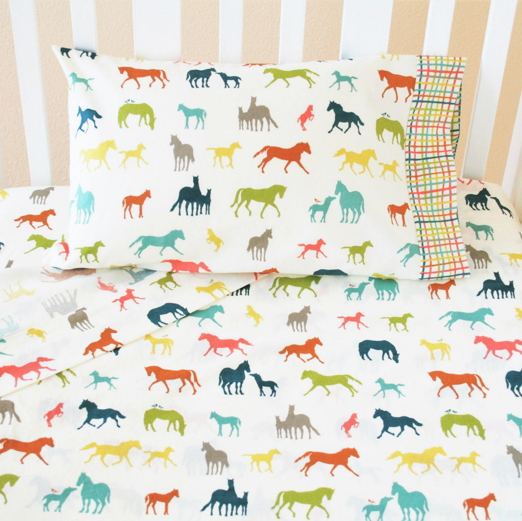 Farm Fresh Crib Sheet Set - Multiple Prints Available