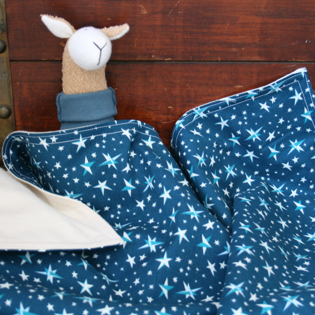 Organic Baby Blanket with Stars