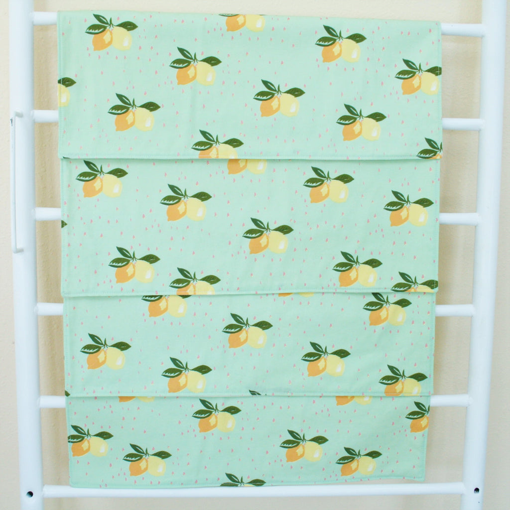 Organic Cotton Placemats with Lemons, Cherry Blossoms or Butterflies