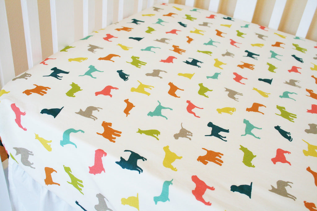 Organic Crib Sheet, Organic Toddler Sheet, Farm Animal Crib Sheet, Fitted Crib Sheet, Farm Fresh, Organic, Toddler Bedding, Baby Beddding