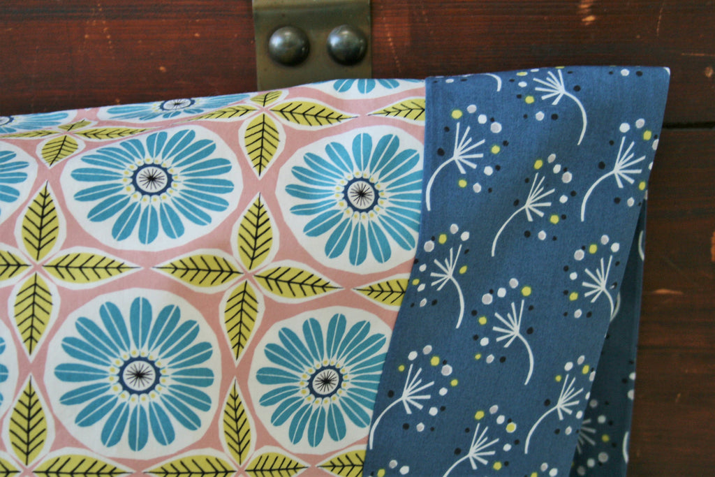 Organic Pillowcase, Floral, Organic Standard Pillowcase, Handmade, Pillow Cases, Custom Pillowcase, Pillowcases Floral, Anya, Eco Pillowcase