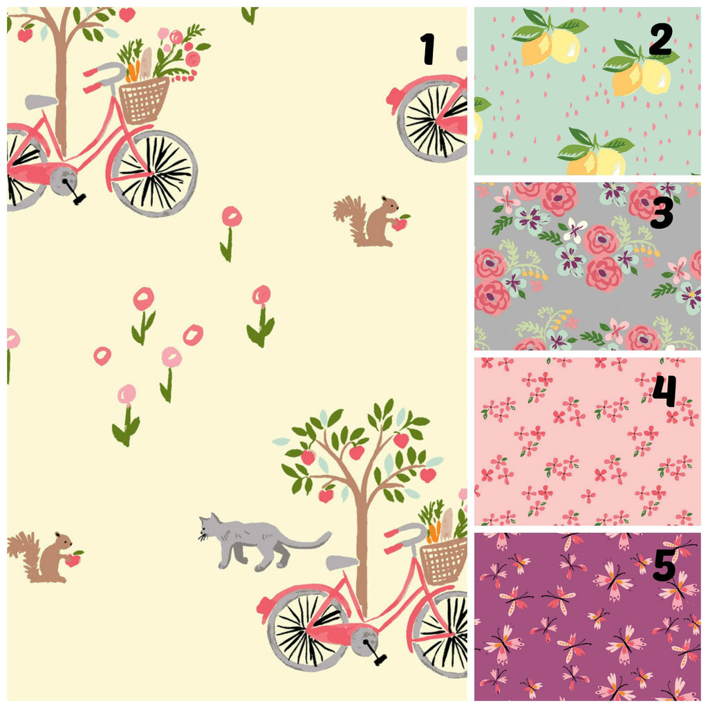Organic Changing Pad Cover, Organic Contoured Changing Pad Cover, Boy, Woodland, Blue, Monaluna, Gender Neutral, Girl, Animals, Floral, Deer
