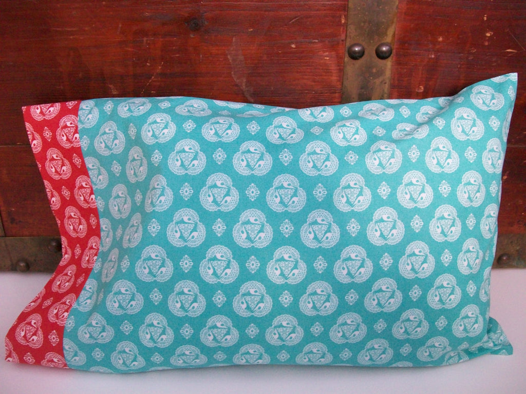 Organic Toddler Pillowcase, Custom Pillowcase, Toddler Pillowcase, Travel Pillowcase, Organic, Modern Americana, Toddler Bedding