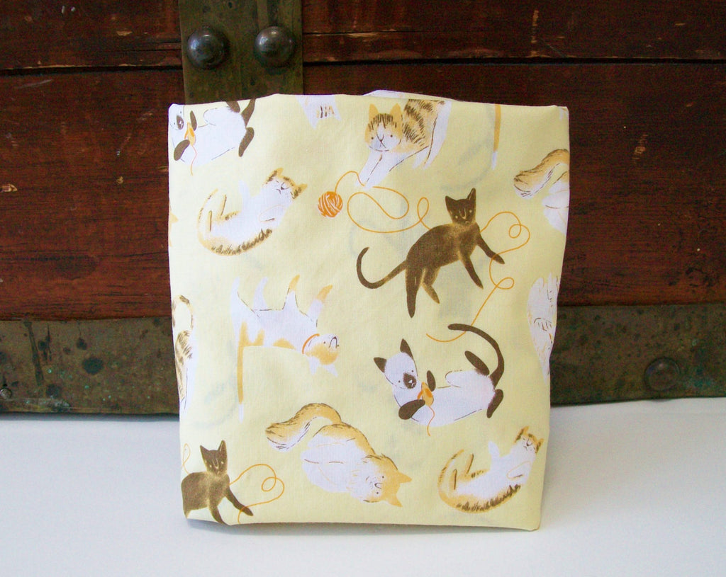 Organic Crib Sheet, Neutral, Mini Co-Sleeper, Co-Sleeper, Pack n Play, Mini Crib, Crib Sheet, Organic, Cattitude, Kitties, Cats, Cat