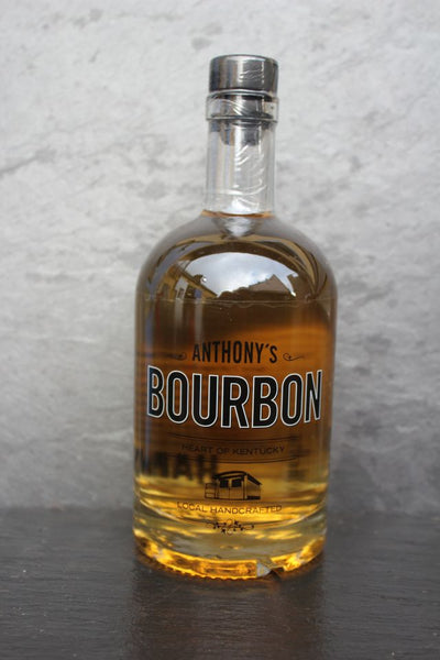 Anthony's Bourbon Bottle,  Spirits - the garage winery