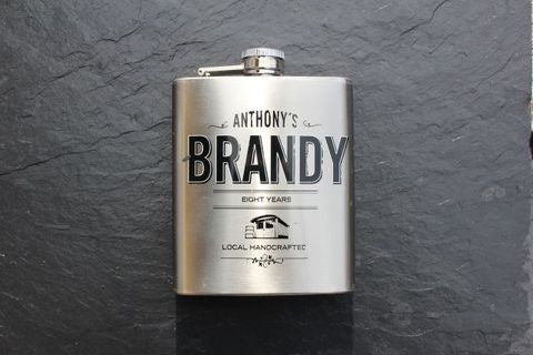 Anthony´s Brandy Flask,  Spirits - the garage winery