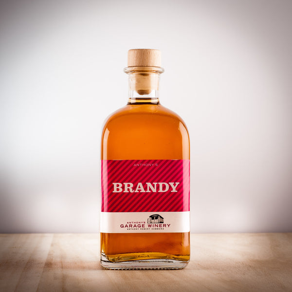 Anthony's Brandy 0.5L,  Spirits - the garage winery
