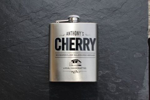 Anthony's Cherry Flask,  Spirits - the garage winery