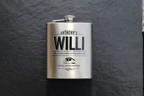 Anthony's Willi Flask,  Spirits - the garage winery