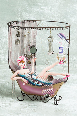 """Bubble Bath"" Jewellery Organiser"