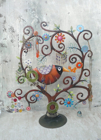 """Bird Tree"" Jewellery Organiser"