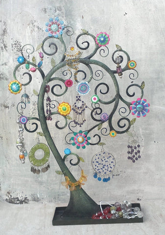 """Tree of Life Inverted"" Jewellery Organiser"