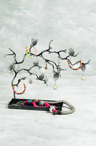"""Twig Metallic Tree"" Jewellery Organiser"