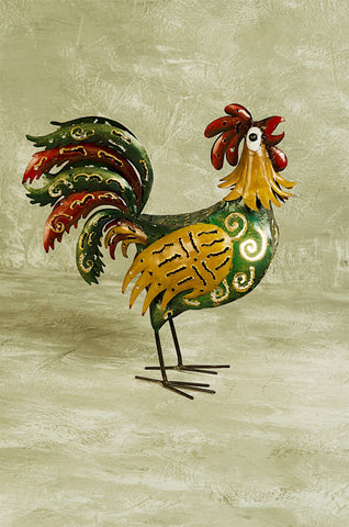 """Rooster"" Lantern"