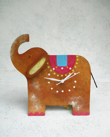 """Elephant Table Clock"""