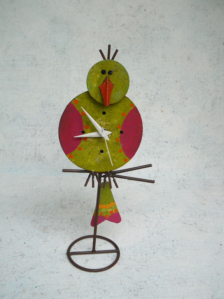 """Bird Table Clock"""