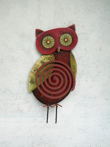 """Red Owl"" Coil Stand"