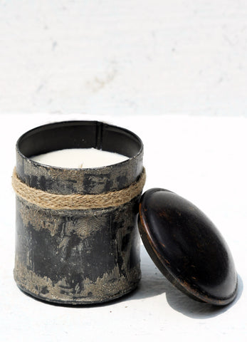 """Sand Candle container (Small)"