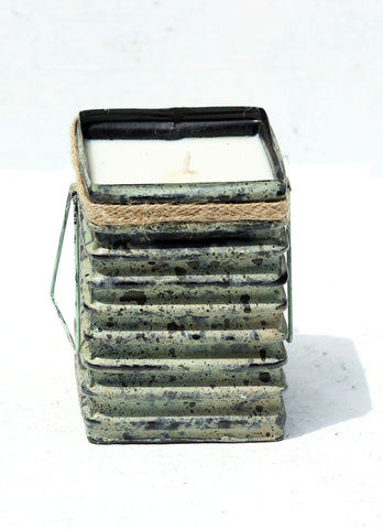 """Tin Roof Candle Container Moss (Large)"""