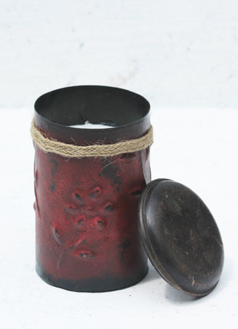 """Chilli Pot Candle Red"""
