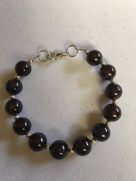 Garnet Bracelet B17-3 just reduced