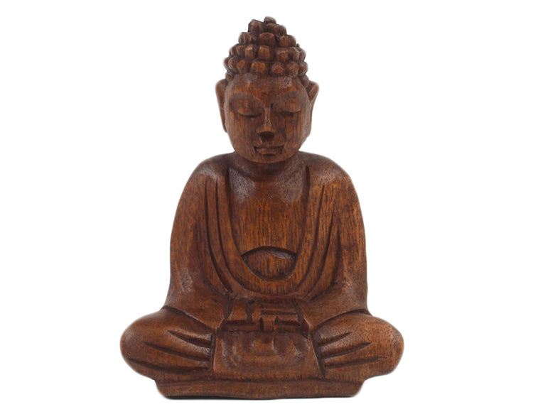 Wooden Buddha SMALL - Pure & Simple Holistic