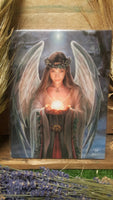 Yule Angel Canvas