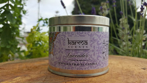 Lavender Karma Scented Candle - Pure & Simple Holistic