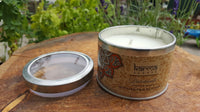 Patchouli Karma Scented Candle - Pure & Simple Holistic