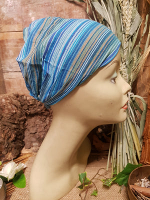 Cotton Hair Wrap/Headband *Blue