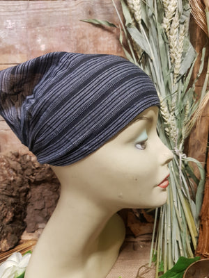 Cotton Hair Wrap/Headband *Black