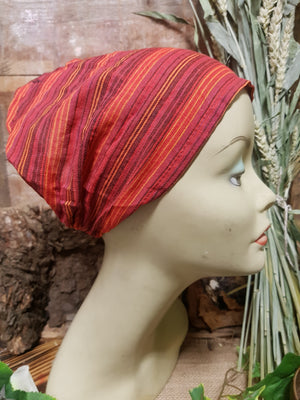 Cotton Hair Wrap/Headband *Red2