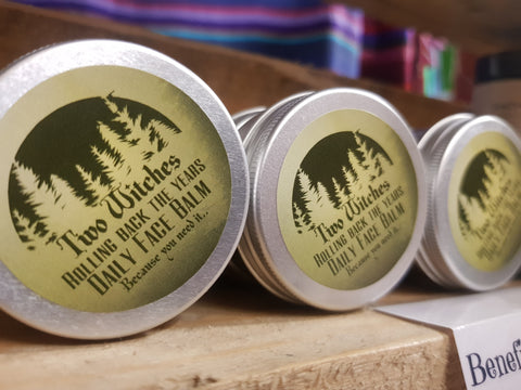 "Two Witches ""Rolling back the years"" Face Cream - Pure & Simple Holistic"