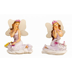 Fairy sitting on Leaf - Pure & Simple Holistic