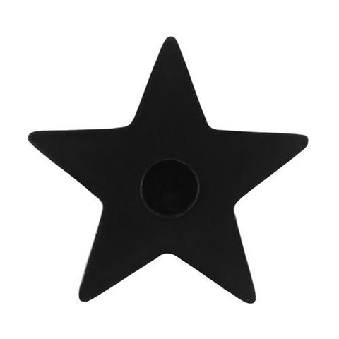 Black Star Candle Holder