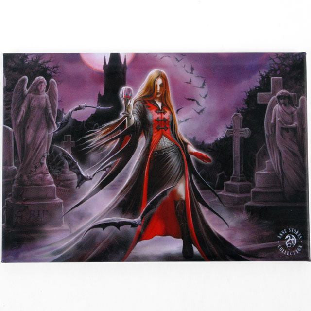 Blue Moon Fridge Magnet by Anne Stokes - Pure & Simple Holistic