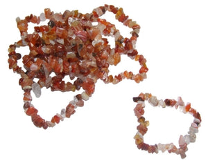 Carnelian Chip Bracelet - Pure & Simple Holistic