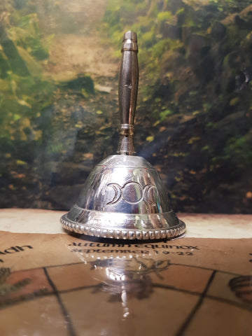 Ritual Bell - Triple Moon - Pure & Simple Holistic
