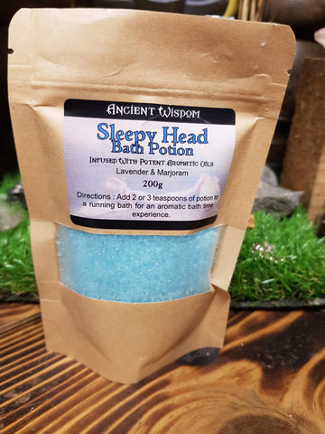 Sleepy Head Bath Salts - Pure & Simple Holistic
