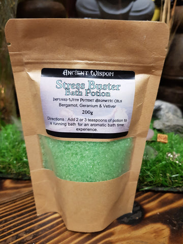 Stress Buster Bath Salts - Pure & Simple Holistic