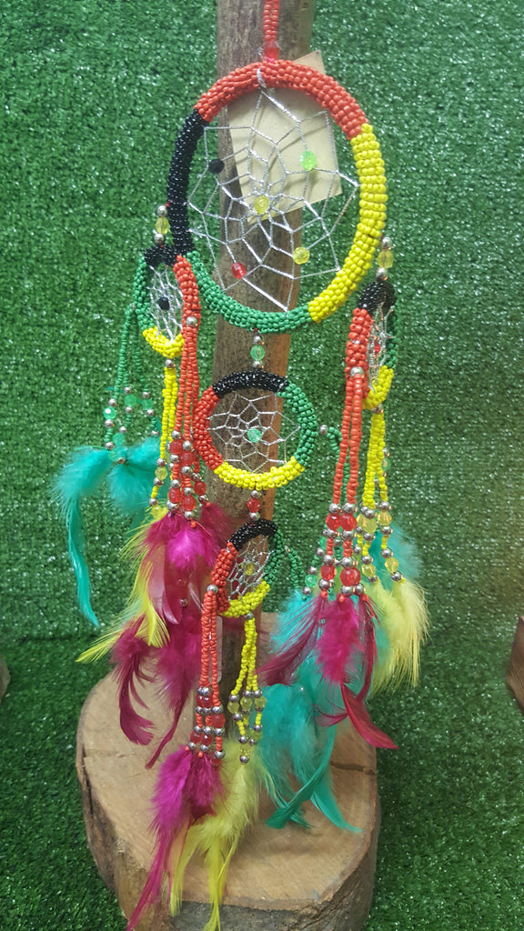Beaded dreamcatcher -Large - Pure & Simple Holistic