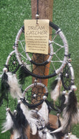 Black and white dreamcatcher - Pure & Simple Holistic