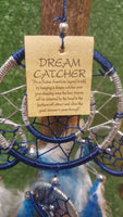 Blue and White dreamcatcher - Pure & Simple Holistic