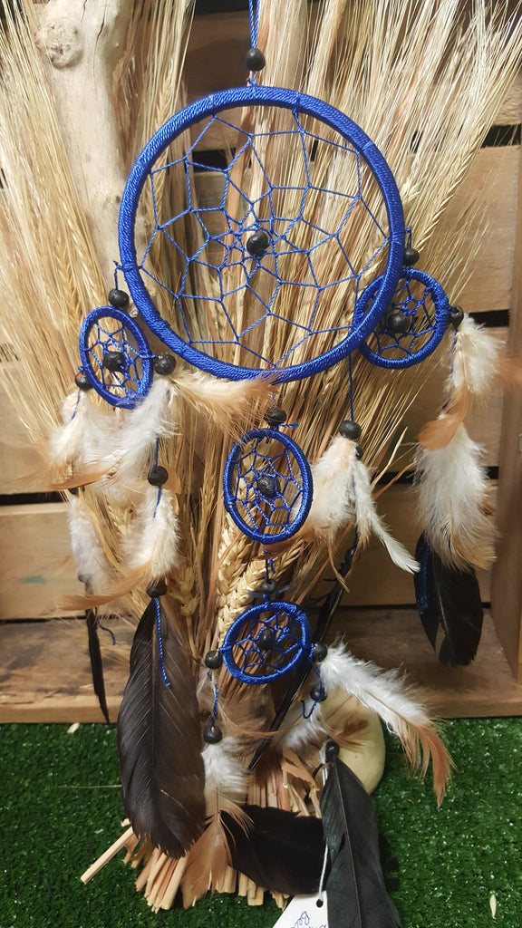 Ble feathers dreamcatcher - Pure & Simple Holistic