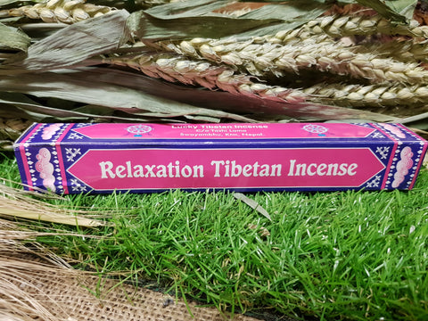 Relaxation Tibetan Incense - Pure & Simple Holistic